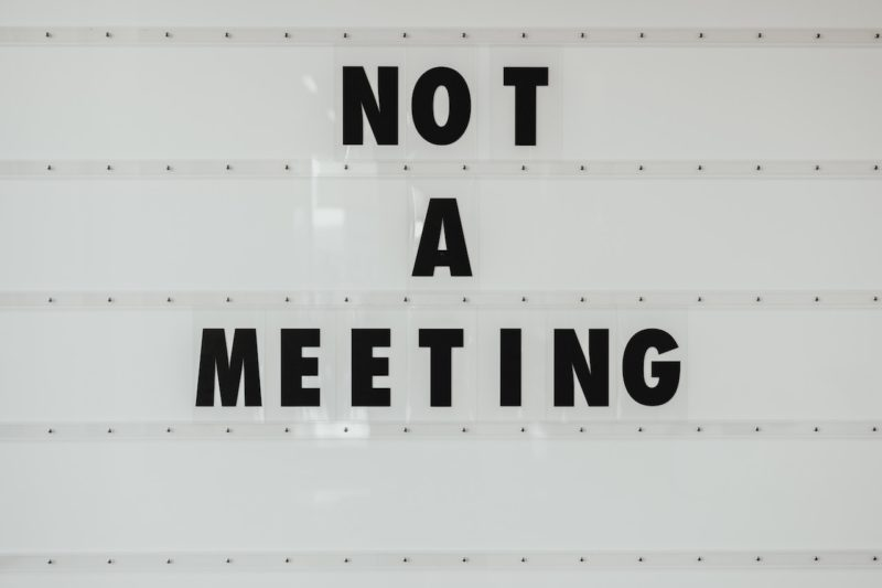 Produktivität Sparkasse Meeting